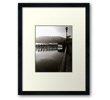 JUST TO SEE  Framed Print