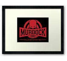Murdock Gym Framed Print