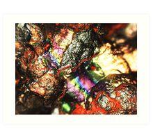 Cyborg Brains and Veins (Goethite) Art Print