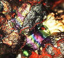 Cyborg Brains and Veins (Goethite) by Stephanie Bateman-Graham