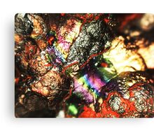 Cyborg Brains and Veins (Goethite) Canvas Print