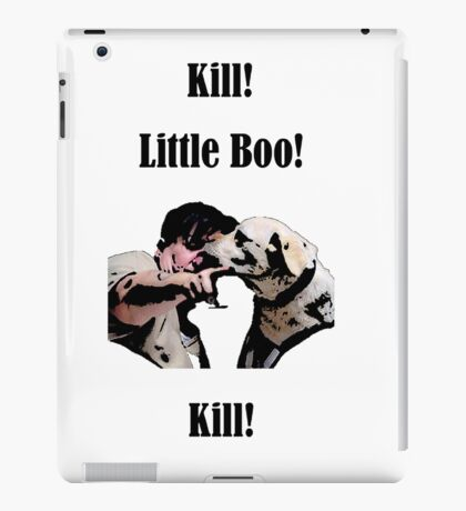 Kill! Little Boo! Kill iPad Case/Skin