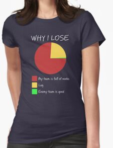Why I Lose - Gaming Humor T Shirt T-Shirt