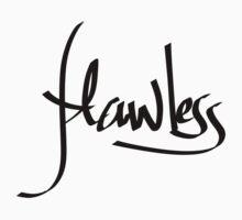 Flawless Handwritten V1 Kids Tee