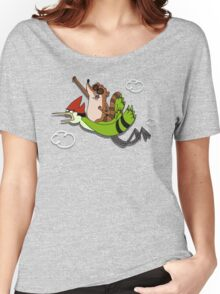We're flying Dude! Women's Relaxed Fit T-Shirt