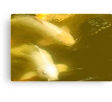 Larravide White Fish  Canvas Print