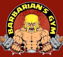 Barbarian's Gym by Akiwa