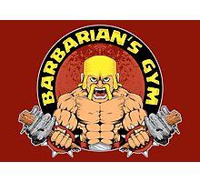 Barbarian's Gym Photographic Print
