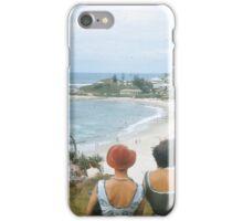 Beach Ladies in Hats iPhone Case/Skin