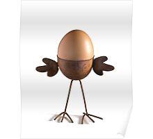 Flying egg Poster
