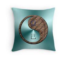 Libra & Snake Yin Earth Throw Pillow