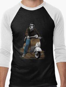Skull Rider Men's Baseball ¾ T-Shirt