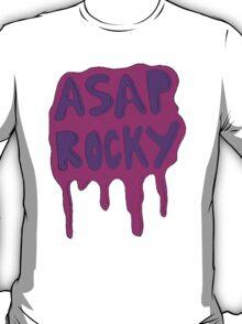 Asap Rocky Slime Purple Drip T-Shirt