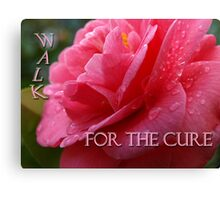 Pink Cure Canvas Print