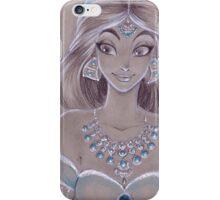 Toned Paper Jasmine iPhone Case/Skin