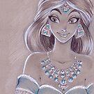 Toned Paper Jasmine by CherryGarcia