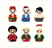Ottoman Characters Art Print