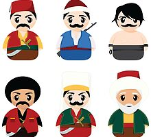 Ottoman Characters by Emir Simsek