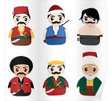 Ottoman Characters Poster