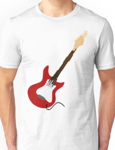 Play Electric Guitar Illustration Unisex T-Shirt