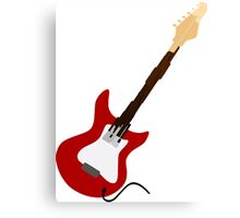 Play Electric Guitar Illustration Canvas Print