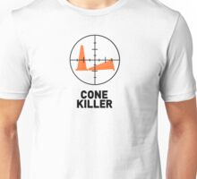 Autocross - Cone Killer (light background) Unisex T-Shirt