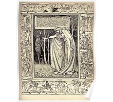 Spenser's Faerie queene A poem in six books with the fragment Mutabilitie Ed by Thomas J Wise, pictured by Walter Crane 1895 V6 317 - When These Were Past Poster