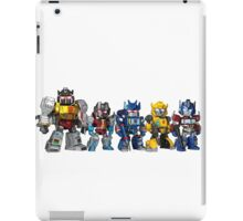 More Than Meets the Eye figurines iPad Case/Skin