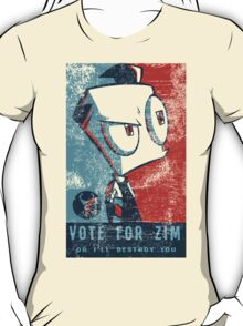 Vote For Zim T-Shirt