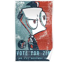 Vote For Zim Poster