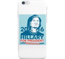 Hillary Clinton 2016 President America Stencil iPhone Case/Skin