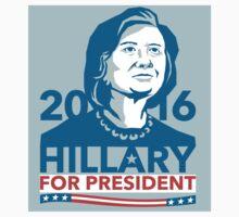 Hillary Clinton 2016 President America Stencil by patrimonio