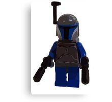 Star Wars Lego Bounty Hunter Canvas Print