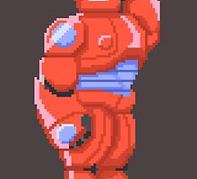 Baymax Pixelated by alzepa
