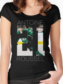 Antoine Roussel #21 Women's Fitted Scoop T-Shirt