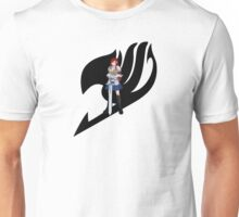 Fariy Tail Anime Erza Black Unisex T-Shirt
