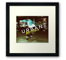 Urban Adventurer Framed Print