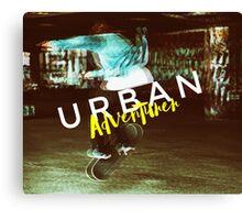 Urban Adventurer Canvas Print