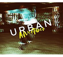 Urban Adventurer Photographic Print