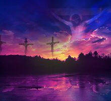 The Crucifixion by Beverly Lussier