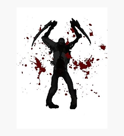 DeadSpace Necromorph [Bloody Slasher] Photographic Print