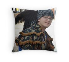 Creek Storyteller Throw Pillow