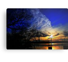 Another Day Ends Metal Print