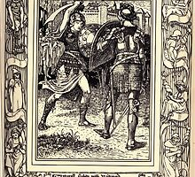 Spenser's Faerie queene A poem in six books with the fragment Mutabilitie Ed by Thomas J Wise, pictured by Walter Crane 1895 V5 105 - Artegall Fights With Radigund by wetdryvac