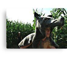 Wolfmen Canvas Print