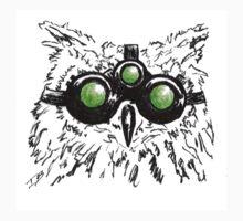 Splinter Owl by IsaiahBergman