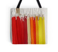 Beads - Red and Yellow Tote Bag