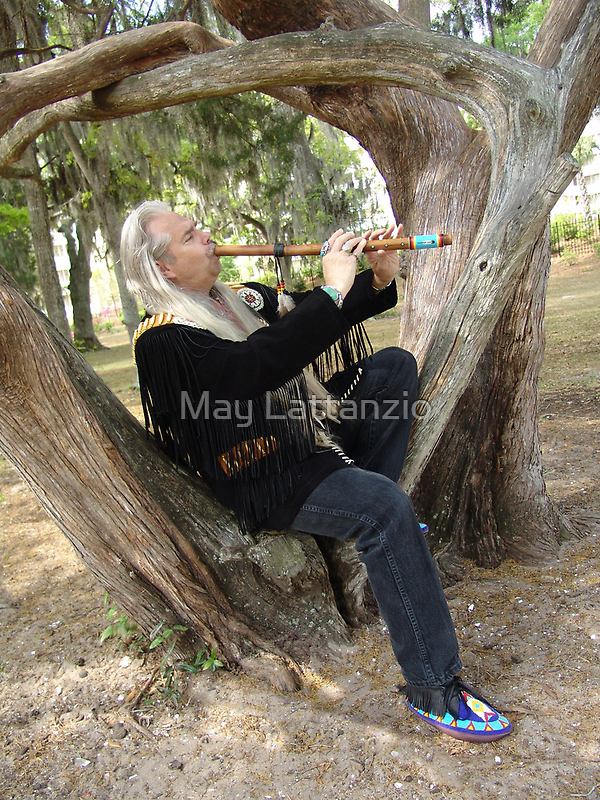 Billy White Fox by May Lattanzio