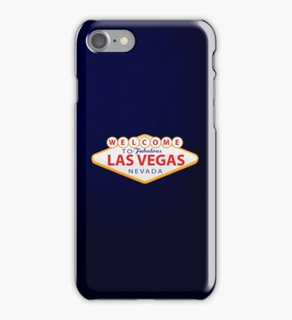 Welcome to Las Vegas iPhone Case/Skin