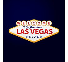 Welcome to Las Vegas Photographic Print